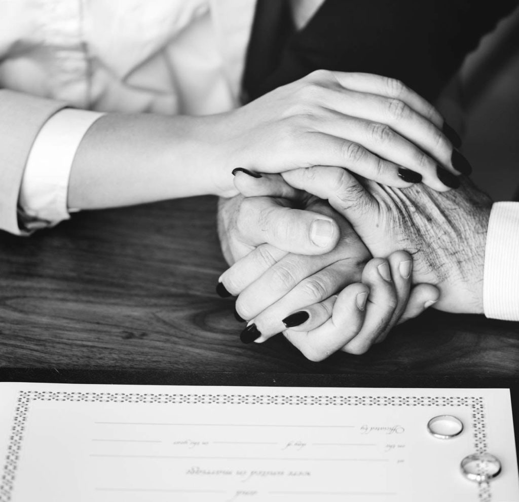 A Civic Wedding and a Marriage Certificate