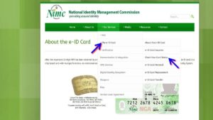 How to check Nigerian National ID card status