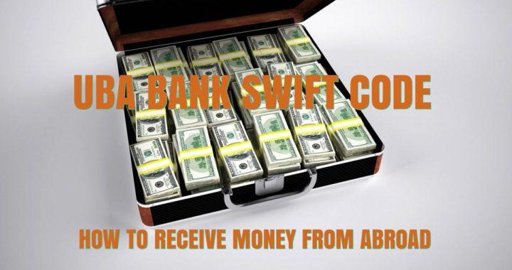 UBA bank swift code
