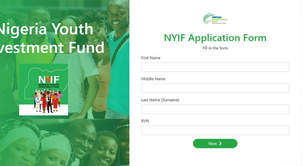 NYIF loan apllication